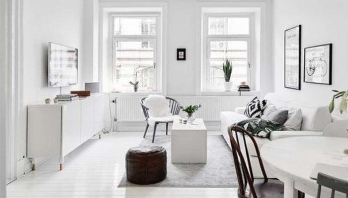 estilo minimalista en diseño de interiores