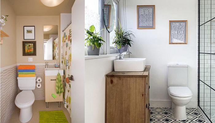 Diseñar baños pequeños
