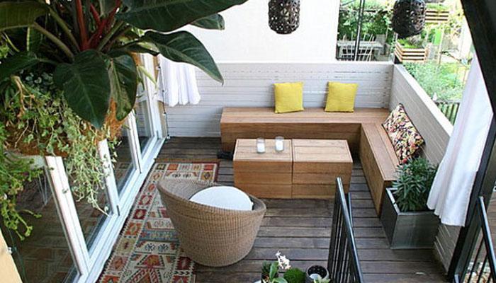 chillout en el balcón