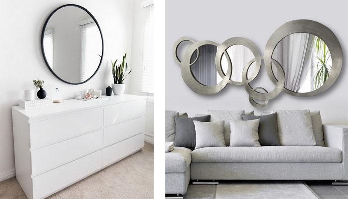 espejos decorativos redondos