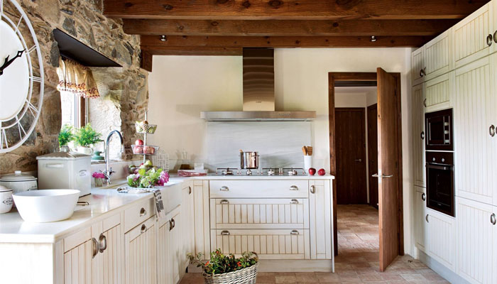 como diseñar una cocinas rústicas