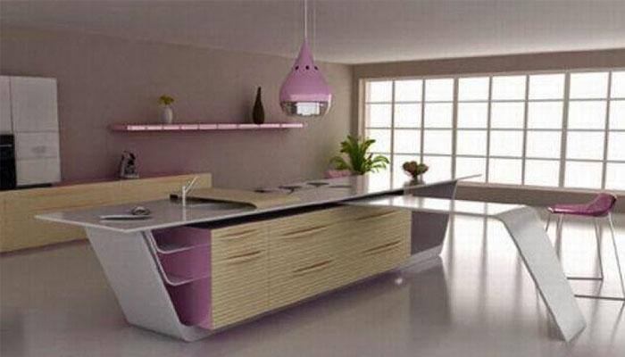 casa moderna futurista