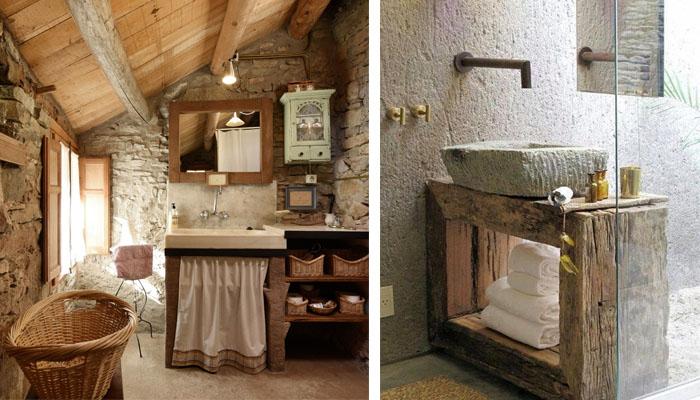 baños de casas rurales