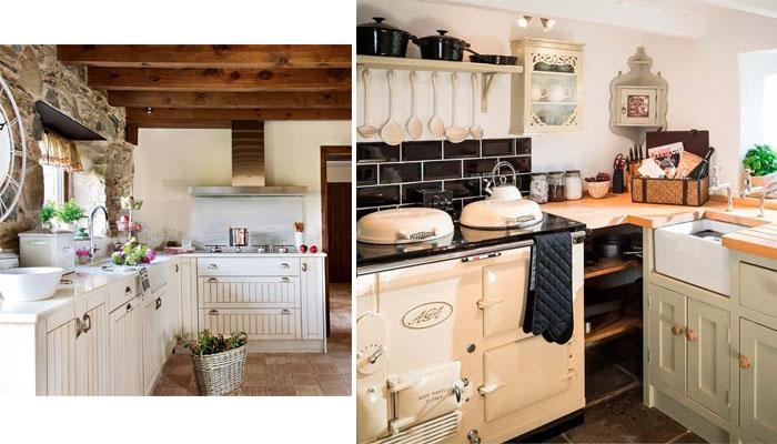 cocina de casas rurales