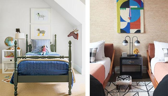 Ideas para habitaciones sofisticadas para niños y jóvenes