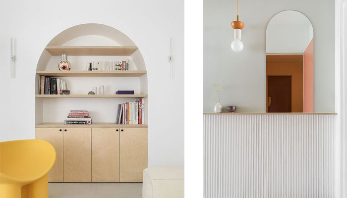 Sencillez y diseño para un apartamento de tres habitaciones