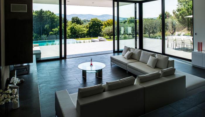 Disposición de la casa y diseño interior