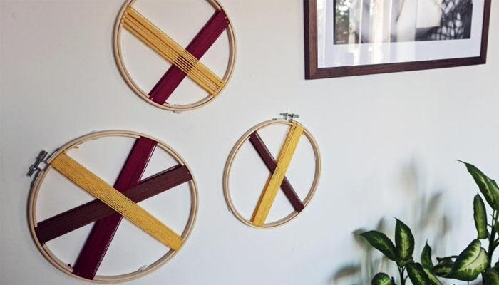 aros de bordado
